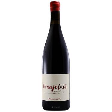 Domaine DE FA Beaujolais 2018薄酒萊村莊紅酒