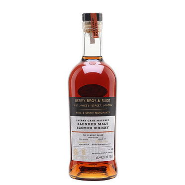 Berry Bros &Rudd Sherry Cask Matured  Scotch Whisky 貝瑞雪莉桶蘇格蘭威士忌