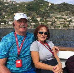 Cruising on Amalfi Coast Italy 2018