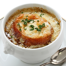 Crock of French Onion Soup