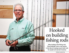 The story about Crow River Custom Fishing Rods and how it all started.