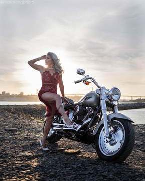 Motorcycle Babes | Halifax, NS  Kim is a lifestyle model for City Models in Halifax, NS