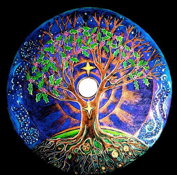 Solstice Salutations , be that summer or winter.   Let us all bathe in the energy and emerge anew.