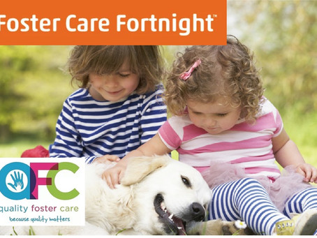 FOSTER CARE FORTNIGHT MAY 10th - 23rd