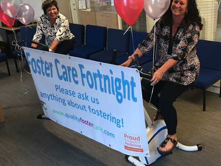 Join us tomorrow! Foster Care Fortnight!