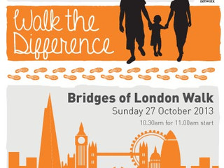 Walk the Difference for the Fostering Network