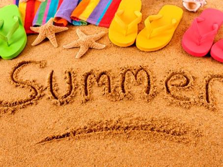 Summer is definitely here!