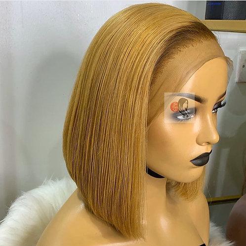 Honey Blonde Frontal  Bob Wig