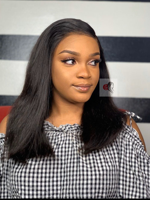 Deluxe Straight Frontal Wig