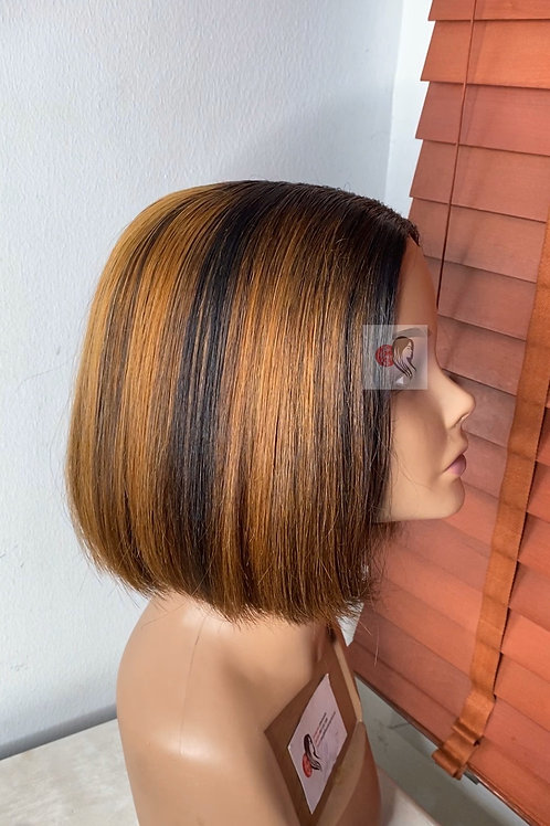 Piano Highlights Closure Wig