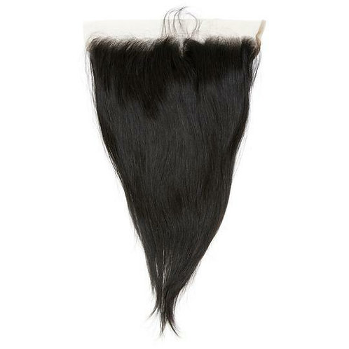 """Raw Straight Maxi Closures (double drawn) 6"""" by 6"""""""