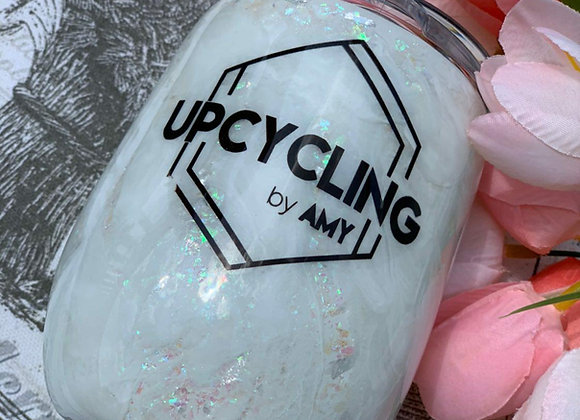 Upcycling by Amy Iridescent Wine Tumbler