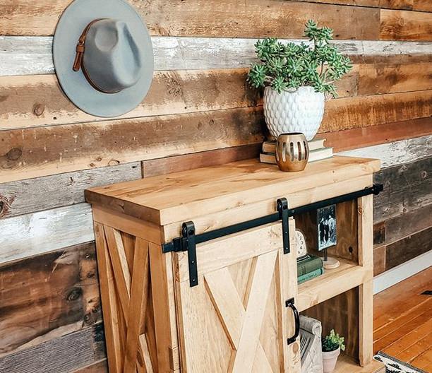 Farmhome Style Custom TV Stand