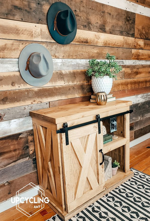 Farmhome Style Custom TV Stand