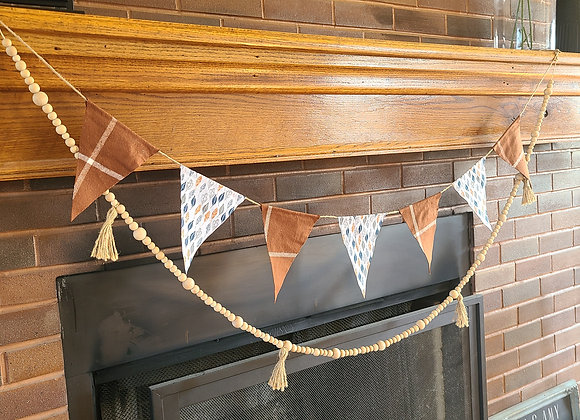 FABRIC BANNERS (multiple color options)