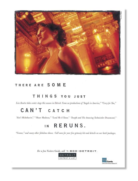 Detroit Tourism Ad
