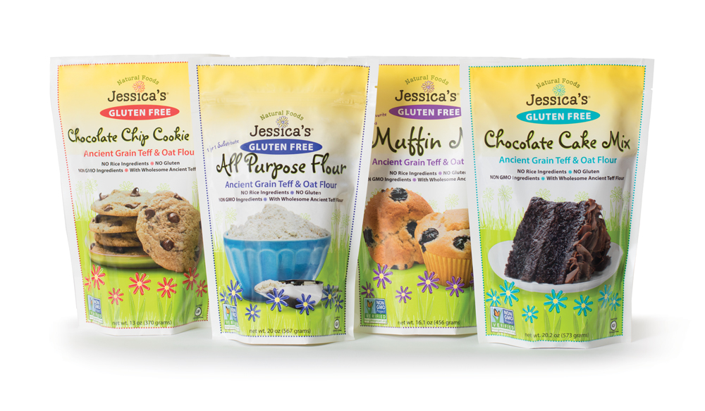 Jessica's Natural Foods Packaging