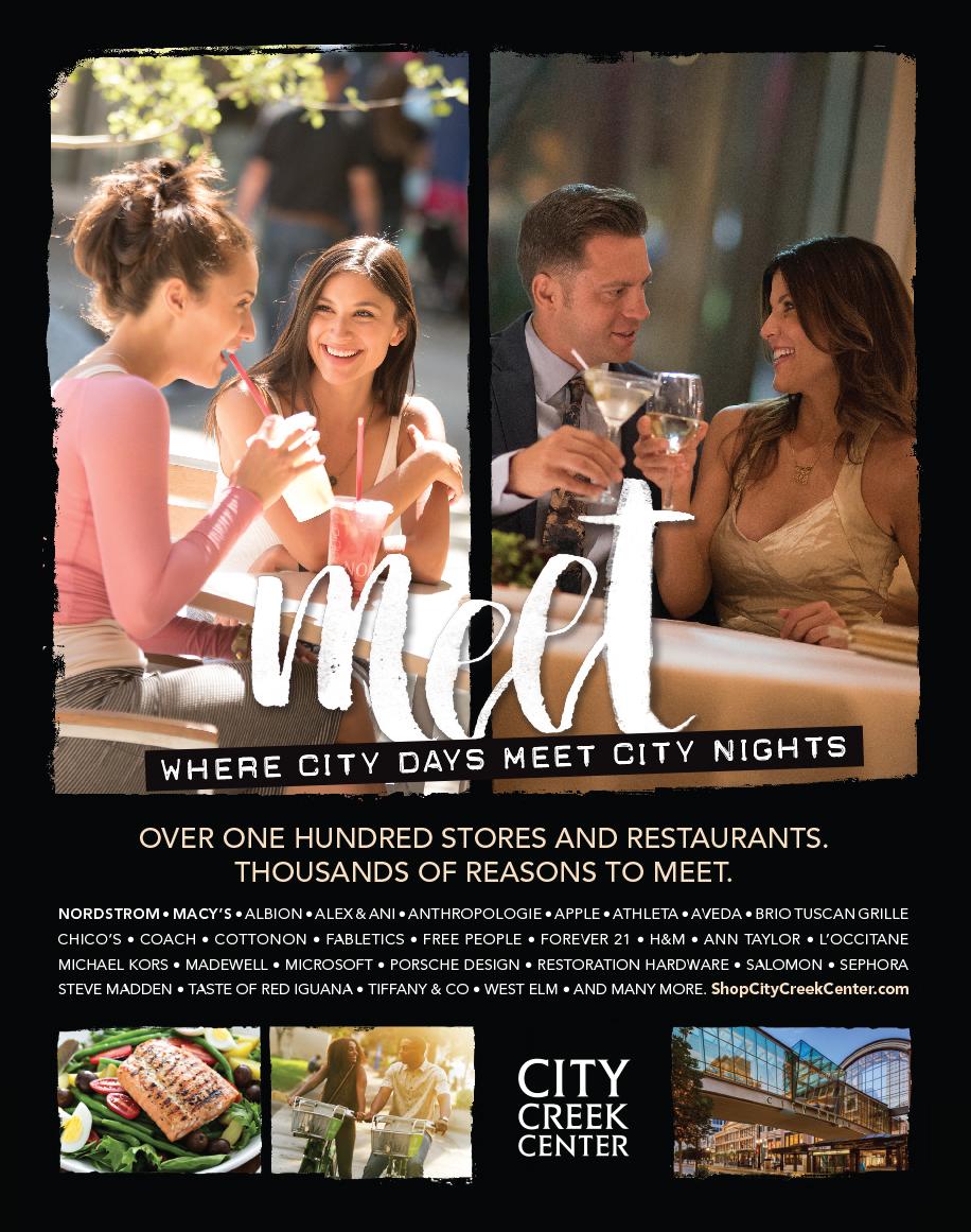 City Creek Center magazine ad