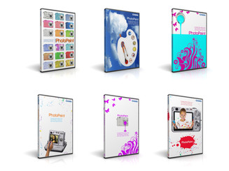 Concept Designs for Casio own branded Photopaint software