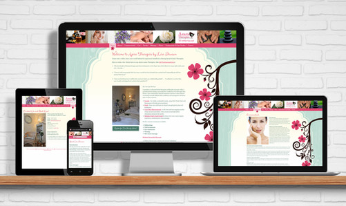 Website for Azara Therapies