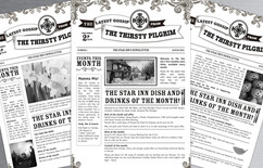 """""""The Thirsty Pilgrim"""" - A Monthly Newsletters for The Star Alfriston"""