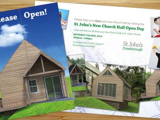 Flyer Design for St Johns Church Open Day Fundraiser