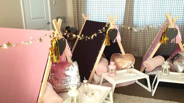 Glamorous Theme Sleepover Parties Greater Manchester, Cheshire andDerbyshire
