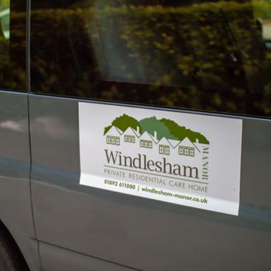 Windlesham Manor Mini Bus Livery