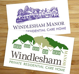 Logo redesign for Windlesham Manor