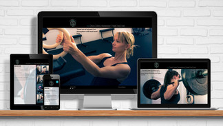 Website for the female only gym Strong Life in Crowborough