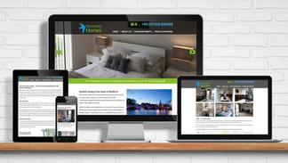 Website for Housemartin Homes