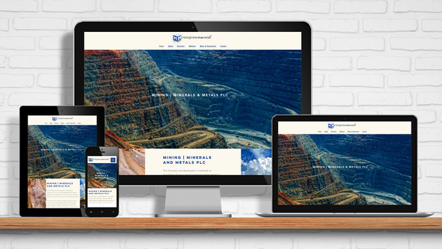 Website for MMM - Mining, Minerals and Metals Plc
