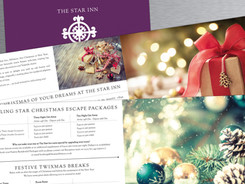 Christmas brochure for The Star Inn in Alfriston