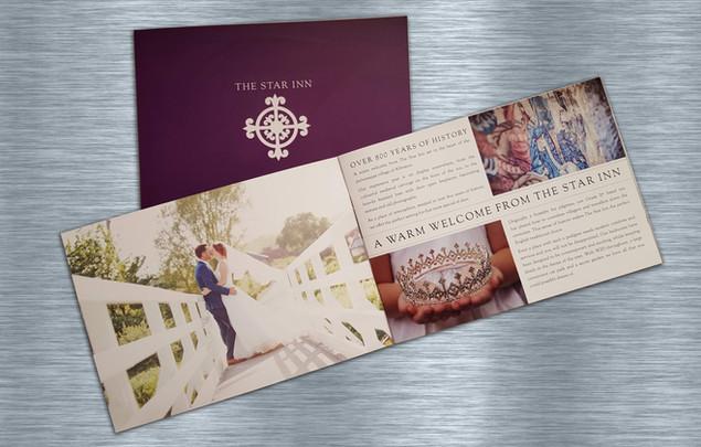 Hotel brochure for The Star Inn in Alfriston