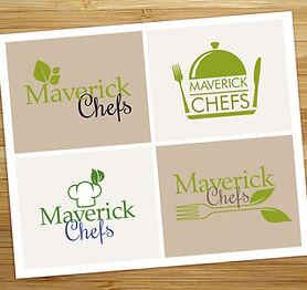 Logo design for Maverick Chefs