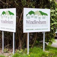 Windlesham Manor new signage
