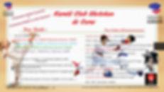 Tarifs et planning karate clb shotokan d