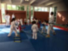 Dojo karate au Cosec de l'ARINELLA à BASTIA