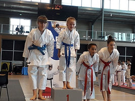 Karate club shotokan casandre championne