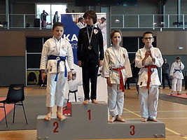 Raphael karate club shotokan 3 open samo