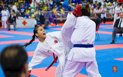 karate moderne competition