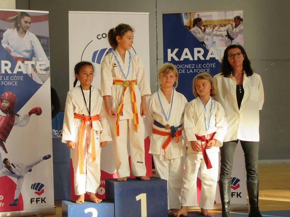 karate shotokan de corse au feminin