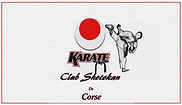 logo karate club shotokan de corse