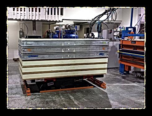 Creating SIP foam panels