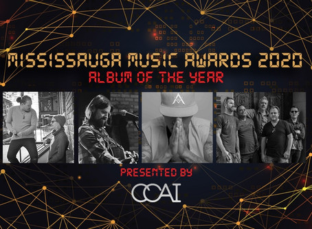 """""""Night of Our Lives"""" Nominated as Album of the Year - Mississauga Music Awards 2020"""