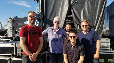 Backstage at Churchill Meadows, Canada D