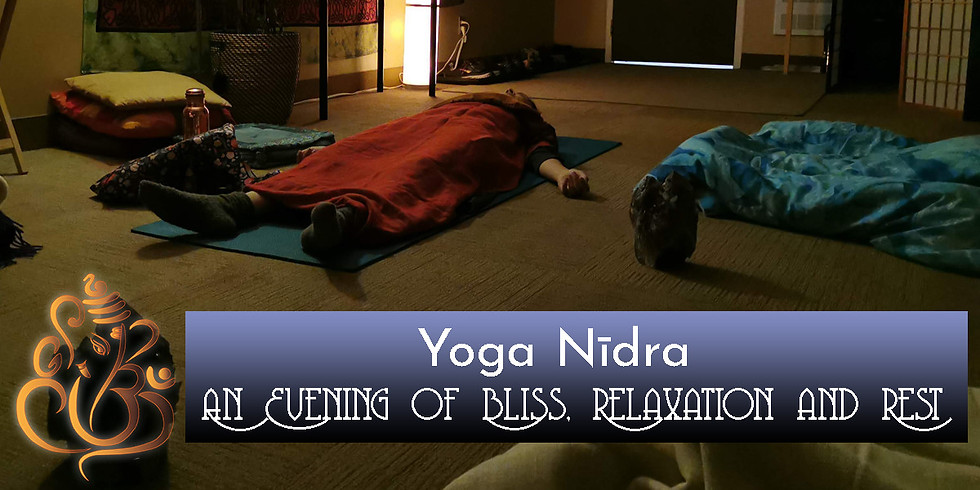 Bliss, Relaxation and Rest through Yoga Nīdra (08/11/2020)
