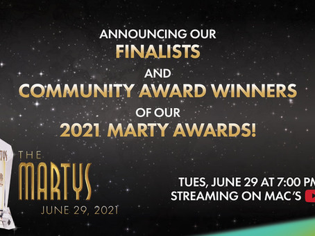 The Southdowns Nominated for Emerging Artist at the 2021 Mississauga Marty Awards