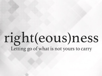 right(eous)ness