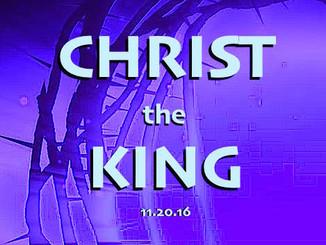 sermon: christ the king